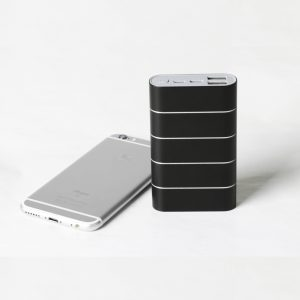 QC3.0+Type C power bank premium aluminum housing